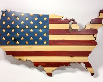 United States Flag Wall Art