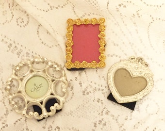 tiny photo frames 90s display frames