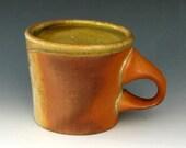 WOODFIRED STONEWARE MUG # 9 - Ceramic Mug - Coffee Mug - Tea Mug - Pottery Mug - Coffee Cup - Wood Fired Cup - Wood Fired Pottery