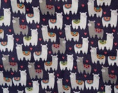 Llama print Flannel pants pajama dorm lounge made to order your choice size XS - 2X