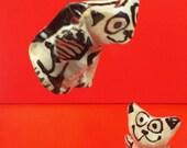 Angel Cat #8 flying ornament  & gift box