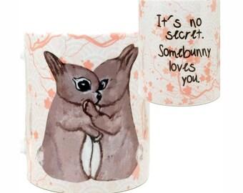 SomeBunny Love You Mug by Pithitude