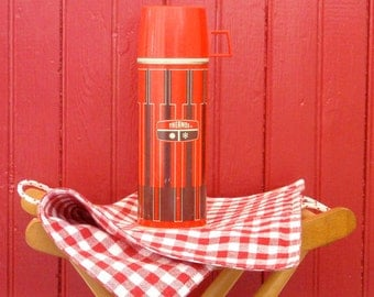 Small Metal King Seeley Thermos
