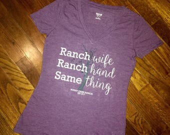 Ranch Wife, Ranch Hand, Same Thing