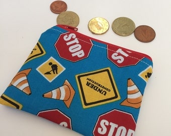 coin purse roadworks