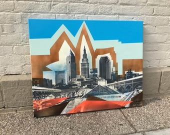CLE GRAFF No. 31 on Canvas 24 x 30