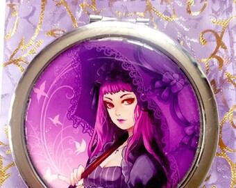 Compact Mirror Gothic lolita