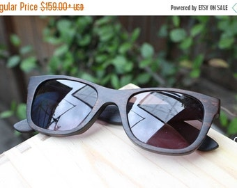 Black Friday ON SALE customize prescription RX Walker2012 Handmade Ebony Wooden Takemoto Sunglasses Glasses