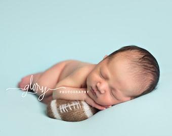 Football, baby football, baby lovies, baby lovie, photo prop, newborn photo prop, prop shop, baby boy, baby girl, newborn prop, football