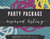 Top Gun Party Package for Ginnie