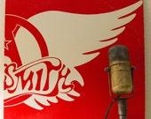 "ON SALE Aerosmith Vinyl Record Album  1970s Classic Rock Boston MA style ""Greatest Hits"" (Scarce PRomo Copy 1980 Cbs w/""Dream On"", ""Walk thi"