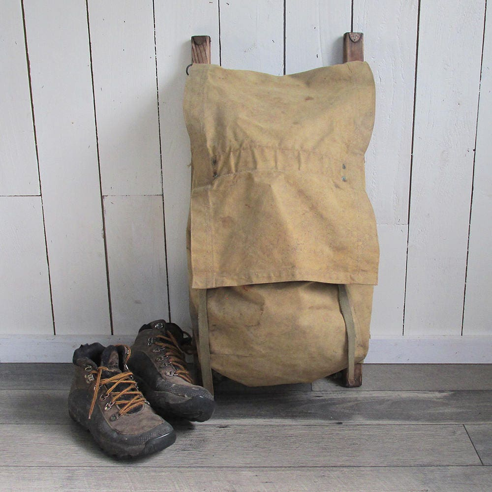 1940s 50s Trapper Nelson S Indian Pack Board Made By