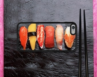 Sushi iPhone Case - iPhone 7 Case, iPhone 7 Plus Case, iPhone 6/6S Case, iPhone 6/6S Plus Case, iPhone 5/5S/5C Case