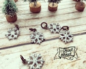 snowflake add-on charm for #TheAdoptShoppeChristmasCollection necklaces