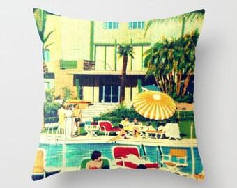 Beach Cushions, Aqua Pillow, Decorative Pillows For Couch Beach Throw Pillow Aqua Throw Pillow Summer Party Pillows Beach House Summer Party
