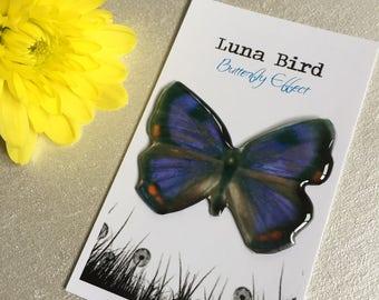 Butterfly Effect Brooch, Purple (PB23) by Luna Bird for the 1200 Butterfly Wall at Butterfly Effect Exhibition