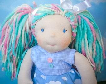 Talita, boneca waldorf, waldorf doll, boneca, doll, fabiluli doll