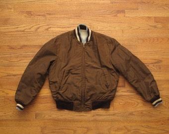 vintage McGregor reversible baseball jacket