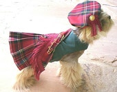Special Listing for Imcmul..,Royal Stewart Dog Kilt XXXL