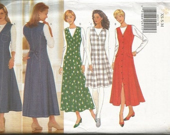 Butterick 4631  Misses Jumper and Top pattern  SZ Xs-Med.   Clearance Item