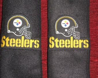 Steelers, seat belt covers (set of two)