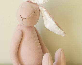Eco Friendly Soft Baby Pink Bunny Rabbit