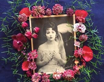 Vintage Photo - Bebe Daniels - Flapper -1920's - Silent Screen Star - Antique Photo-