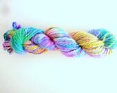 Hand dyed chunky 100% baby alpaca yarn - Soft Improvisation 3