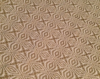 Guatemalan Fabric Brocade Creamy Gold