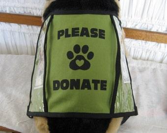 Dog Donation Vest - EXTRA Large