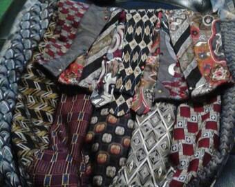 Necktie Messenger Bag