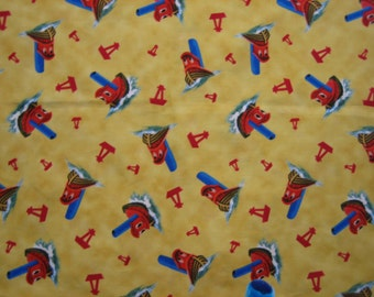 Scuffy the Tugboat Golden Book fabric ( BTHY )