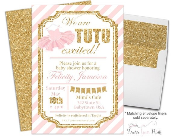 baby shower invitations tutu baby shower invitations glitter baby