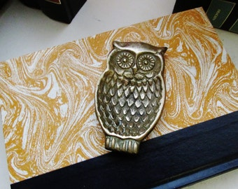 Petite Brass Owl Tray, Brass Owl Ring holder, Ashtray