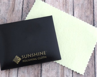 Jewelry Polishing Cloth - Sunshine Cloth - Tarnish Remover - Sterling Silver Cleaner