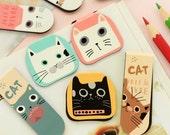 Cat Magnetic Page Markers Magnet Bookmark - Die Cut Cardstock Scrapbook Embellishment