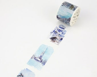 Iceland Washi Tape Masking Tape Planner Stickers Scrapbooking Stickers