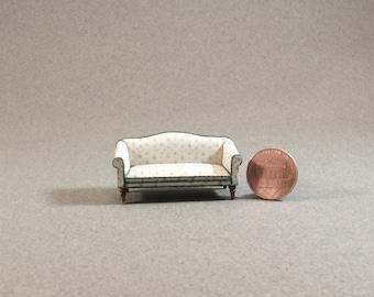 Quarter Inch Scale Furniture - Windsor Style Sofa