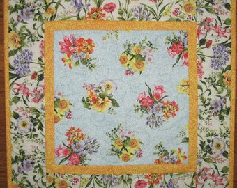 Floral Table Topper, Spring, Summer