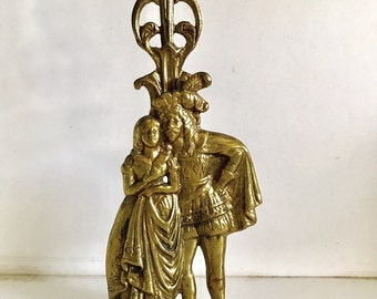 Vintage Large Brass Candleholder