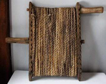 Hemp Rope Art Etsy