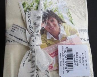 Fig Tree - Fat Quarter Bundle -12 Designer Select Bella Colors 9900ABFT Moda