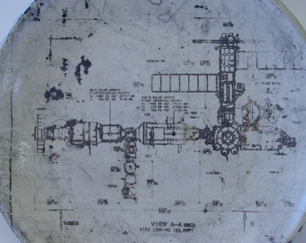 ISS Lithographed Plate