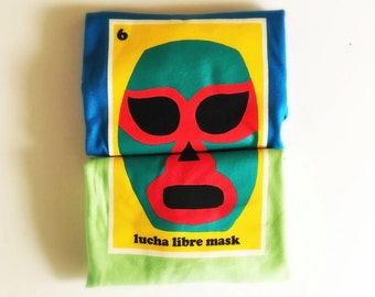 "Toddlers and Kids ""Lucha Libre Mask"" Tee"