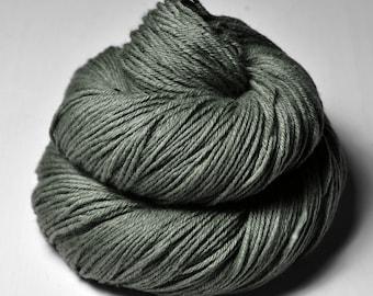 Dark lichen on a tombstone OOAK - Merino Sport Yarn Machine Washable