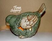 Chubby Bird Ceramic Accent Lamp Night Light