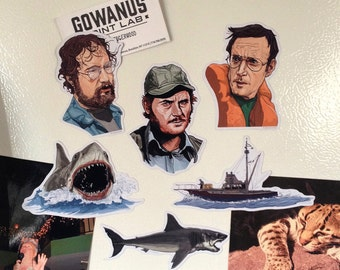 JAWS Fridge Magnet SET!