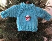 Mini Ski Sweater Ornament