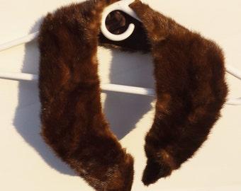 Vintage Fur Collar, Vintage fur,