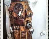 Leather Apron - Alchemist - Steampunk
